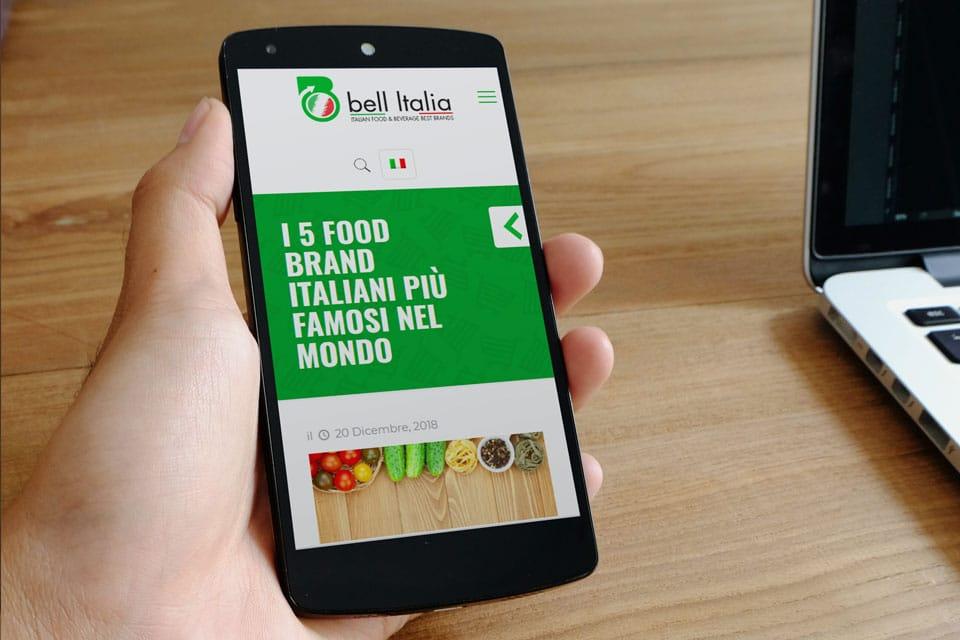 Bell Italia Italy SWAG agenzia web, grafica e social a Bari