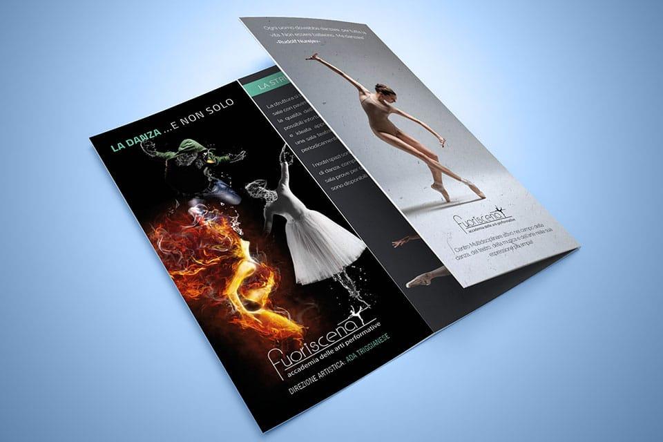 fuoriscena-brochure-Italy SWAG agenzia web, grafica e social a Bari