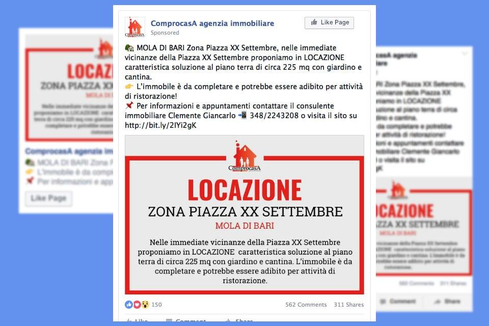 Agenzia Comprocasa Italy SWAG agenzia web, grafica e social a Bari