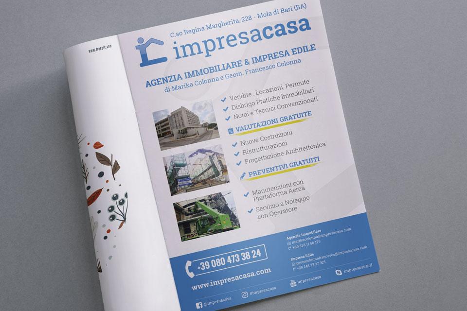 impresacasa Italy SWAG agenzia web, grafica e social a Bari