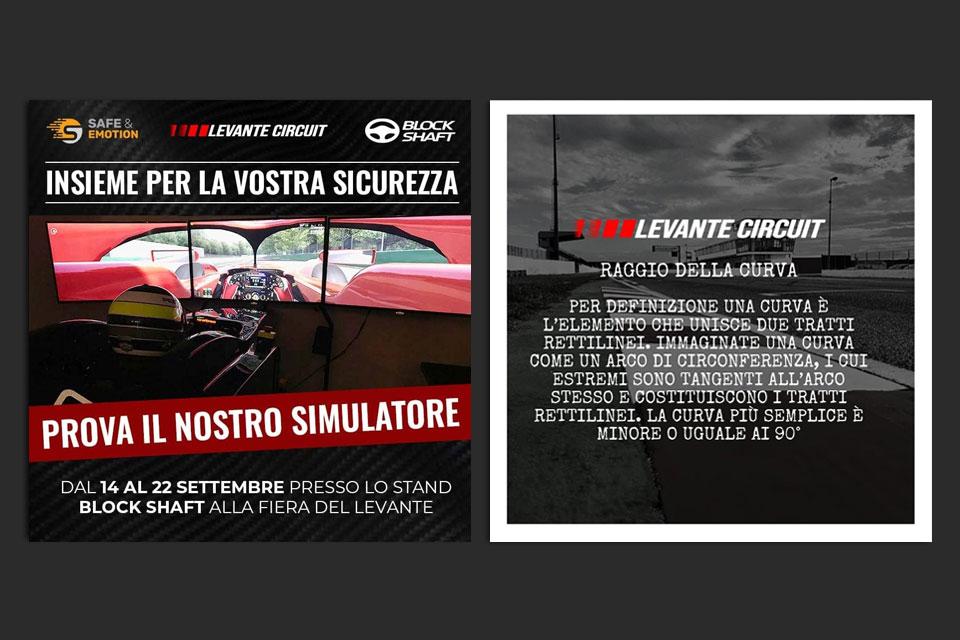 Levante Circuit - Italy Swag  agenzia web, grafica e social a Bari