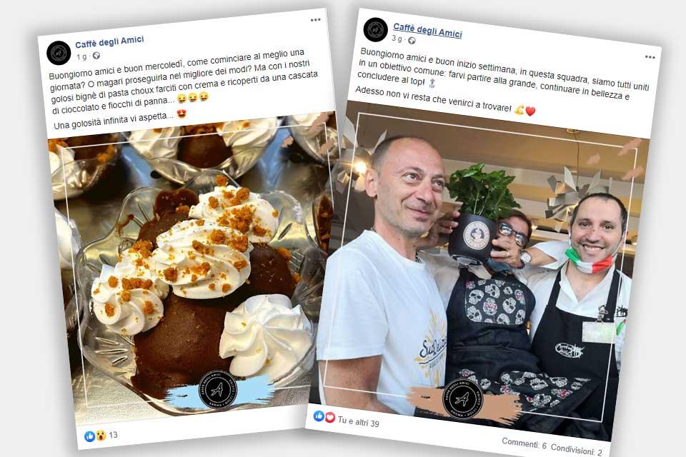 Caffè degli Amici - Italy Swag  agenzia web, grafica e social a Bari