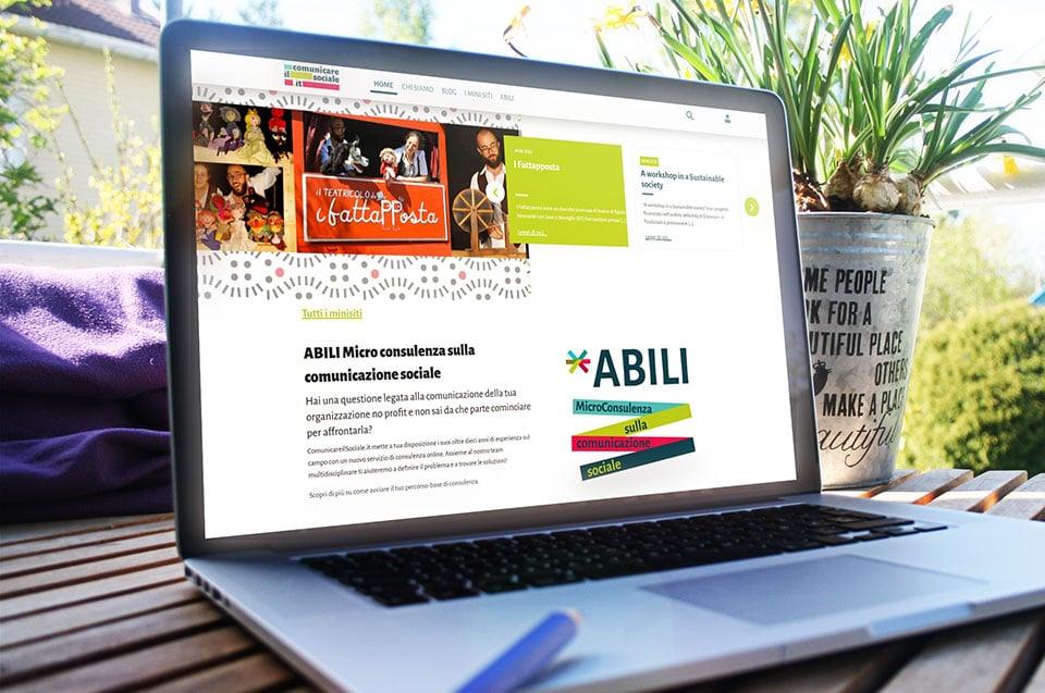Comunicare il Sociale - Italy Swag  agenzia web, grafica e social a Bari