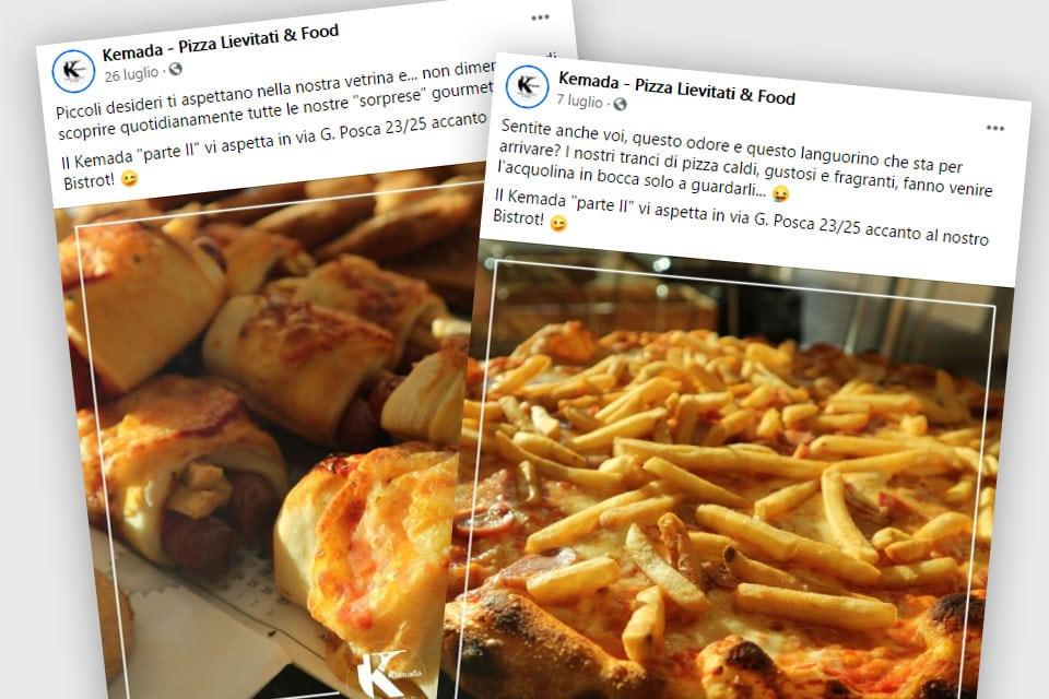 Kemada Pizza Lievitati - Italy Swag  agenzia web, grafica e social a Bari